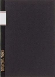 Stalogy Vintage Notebook - Lined - Black