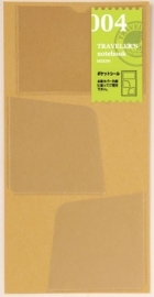 Midori TRAVELER`S Notebook - Refill 004 : Pocket Stickers