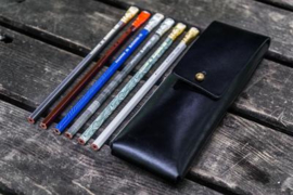 Galen Leather - Pencil Case for Blackwing pencils - Black