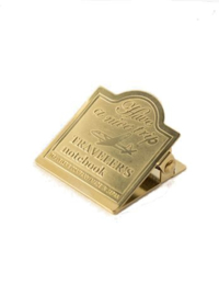 TRAVELER`S Company - Brass Clip - Airplane