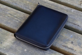 Galen Leather - 5 slots Leren Pencase Black