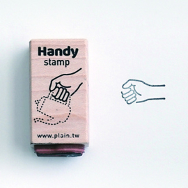 Plain Stationery - Handy Stamp - A
