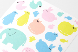 Midori Stickers - MD Sticker Schedule - Animal