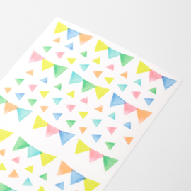 Midori Stickers - MD Sticker Schedule - Flag