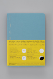 Stalogy 365Days Notebook - B6 - BLUE
