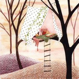 IsaBella Illustrations Postkaart Lizzy 01