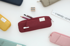 Livework Pocket Pencilcase - Brick Red