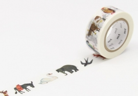 MT Masking Tape ALAIN GREE ANIMAL