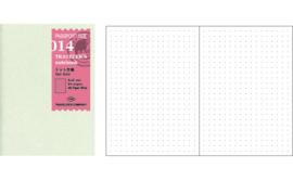 TRAVELER`S Notebook PP - Refill 014 Dot grid