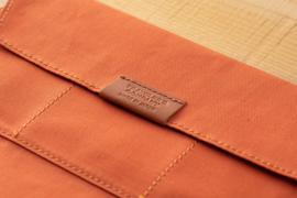 LTD TRAVELER'S Notebook Cotton Zipper Case - Orange