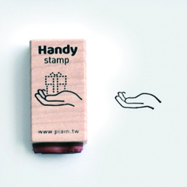 Plain Stationery - Handy Stamp - F