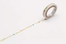 MT EX Masking Tape FLOWER LINE