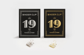 Tools to Liveby No.19 Binder Clips - GOLD