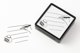 Midori Paintable Stamp - Stationery