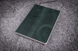 Galen Leather - Leather Notebook A5 - Crazy Horse Forest Green
