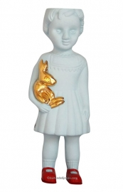 Lammers en Lammers Ceramic Doll Open Mind  Blue