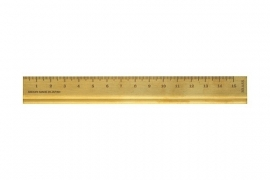 TRC BRASS Ruler