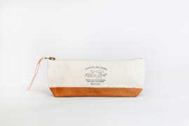 The Superior Labor - Cotton Canvas Pouch Shallow - Light Khaki