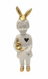 Lammers en Lammers Mini Doll Rabbit White