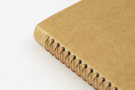 TRC SPIRAL RING NOTEBOOK Kraft Paper B6