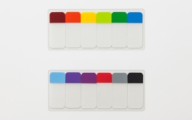 Stalogy 008 Short Sticky Notes, 6 colors Pack A