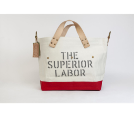 The Superior Labor - Cotton Canvas Engineer Tote Bag S - Red