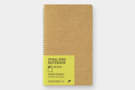 TRC SPIRAL RING NOTEBOOK - Paper Pocket A5 slim