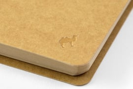 TRC SPIRAL RING NOTEBOOK Kraft Paper A6 slim