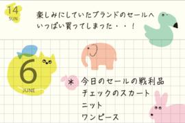 Midori Stickers - MD Sticker Schedule - Animal