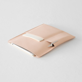Midori MD Goat Leather Cover - A5 vertical