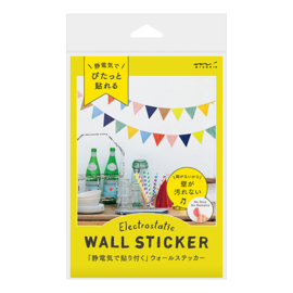 Midori Electrostatic Wall Stickers - Flags