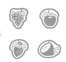 Midori E-clips Fruit