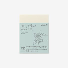 Midori MD Paper A7 Sticky Notes Grid