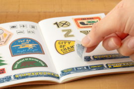 LTD TRAVELER'S Notebook Passport Size Refill Sticker Release Paper