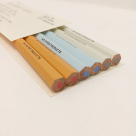 Midori MD Color Pencil 6 pcs Set