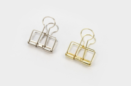 Tools to Liveby No.32 Binder Clips - SILVER