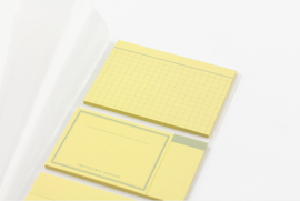 Midori TRAVELER`S Notebook  -   Refill 022 : - Sticky Notes