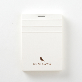 Kunisawa - Find Block Memo - White