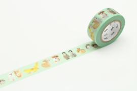 MT Masking Tape BABY ANIMALS