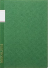 Stalogy Vintage Notebook - Lined - Green