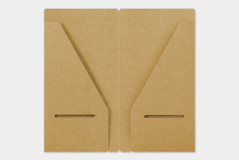 Midori TRAVELER`S Notebook - Refill 020 : Kraft File