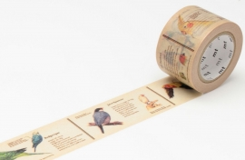 MT Masking Tape ENCYCLOPEDIA BIRD