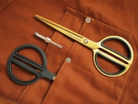 "Tools to Liveby 8"" Gold Scissors"