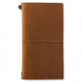 TRAVELER`S Notebook Camel