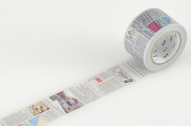 MT Masking Tape Newspaper