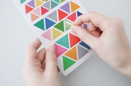 Livework ColorPalette Sticker TRIANGLE