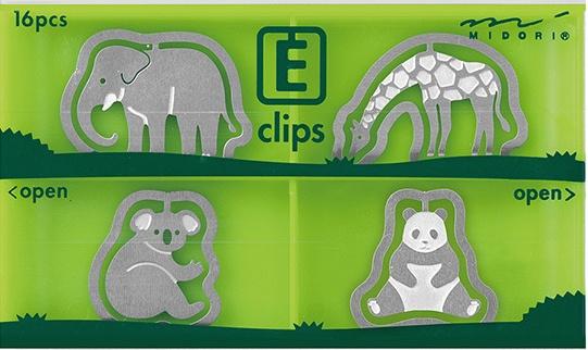 Midori E-clips Zoo