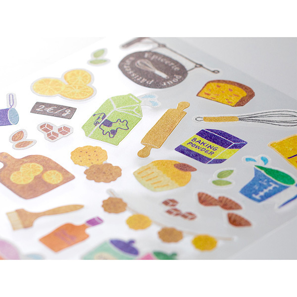 Midori Sticker 2371 Marché Tools for Baking