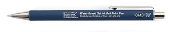 Stalogy 028 Water-Based Gel Ink Ball Point Pen - Blue