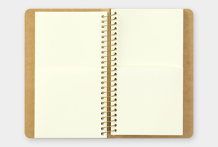 TRC SPIRAL RING NOTEBOOK - Paper Pocket A6 slim